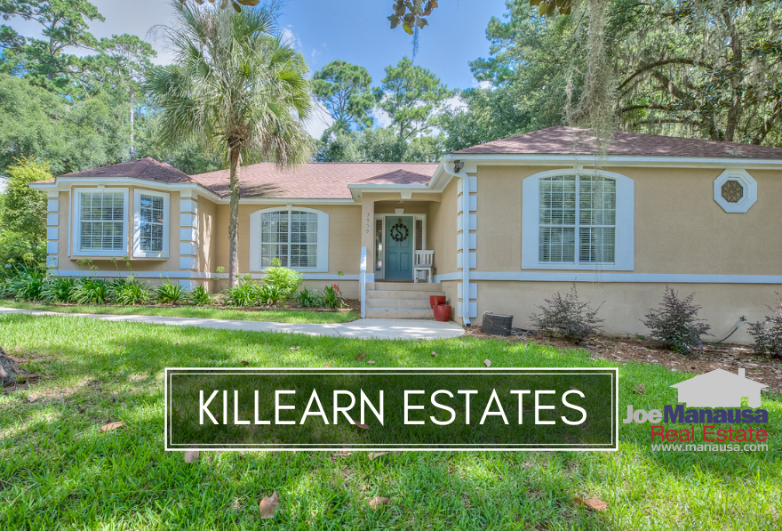 Killearn Estates is one of Tallahassee's most active-selling neighborhoods, featuring three, four, and five bedroom homes built on large, well-manicured lots.