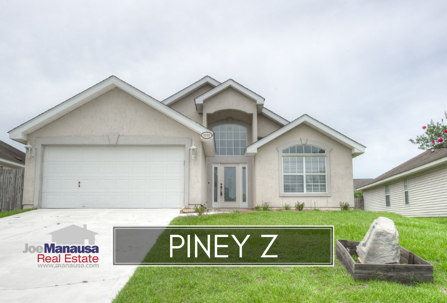 Piney Z is a NE Tallahassee neighborhood that features 3 and 4 bedroom homes that are in the