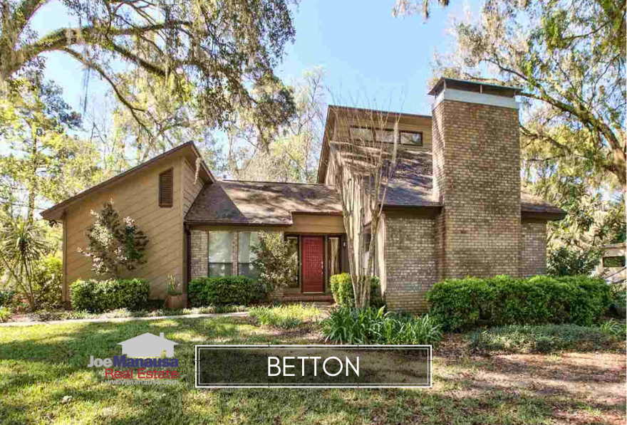 Betton in Tallahassee features homes of all types, ages, and sizes, and buyers last year set a 20-year record for buying these properties located just north of Midtown.