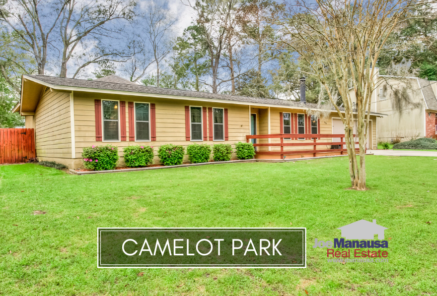Camelot Park in downtown Tallahassee offers much needed three and four bedroom homes on a quarter acre (plus) sized lots.
