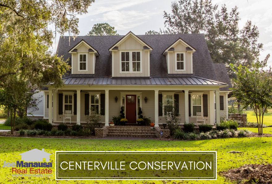 Centerville Conservation is a Northeast Tallahassee luxury-homes neighborhood that was built around a conservation easement for which it was named.