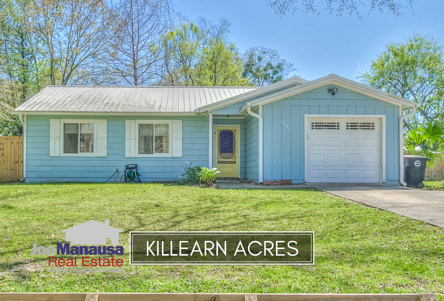 Killearn Acres is located at the northern edge of Killearn Estates and contains both 3 and 4 bedroom homes that are a fiery hot commodity right now.