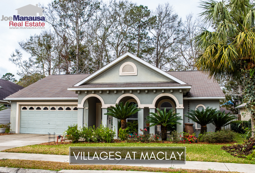 The Villages at Maclay is a Northeast Tallahassee neighborhood featuring both single-family attached and detached homes.