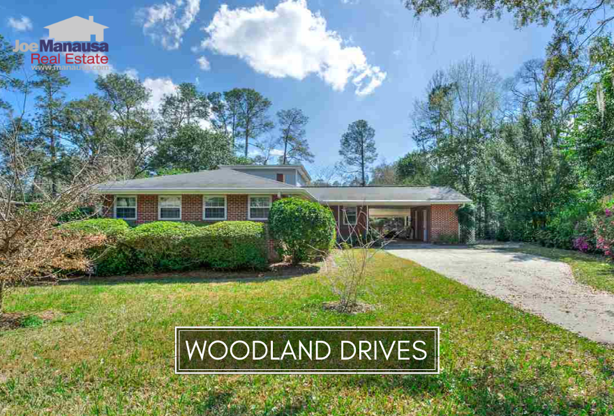 Woodland Drives in downtown Tallahassee is located within walking distance to shopping, dining, and downtown entertainment.