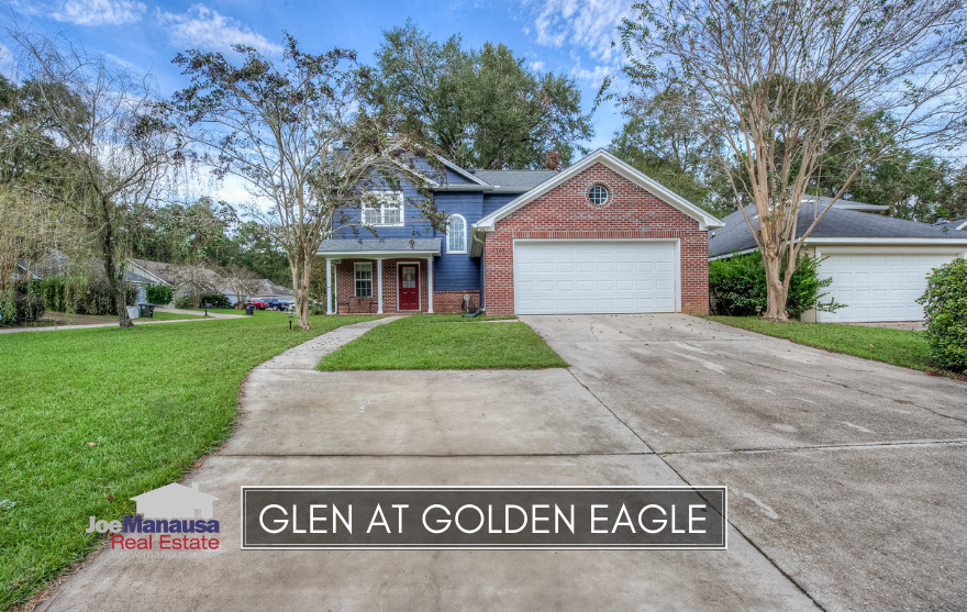 The Glen at Golden Eagle is a small but popular NE Tallahassee neighborhood located within Killearn Lakes Plantation.