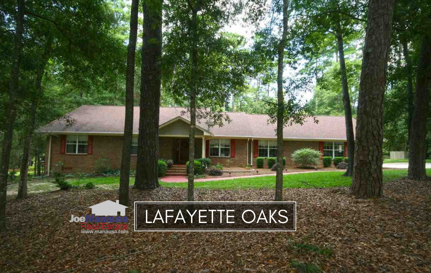 Lafayette Oaks is a popular gated community on the east side of town, located outside of Capital Circle on Mahan Drive.