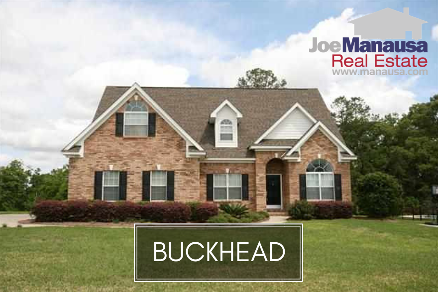 Buckhead is a popular Northeast Tallahassee neighborhood located across Centerville Road from Killearn Estates.
