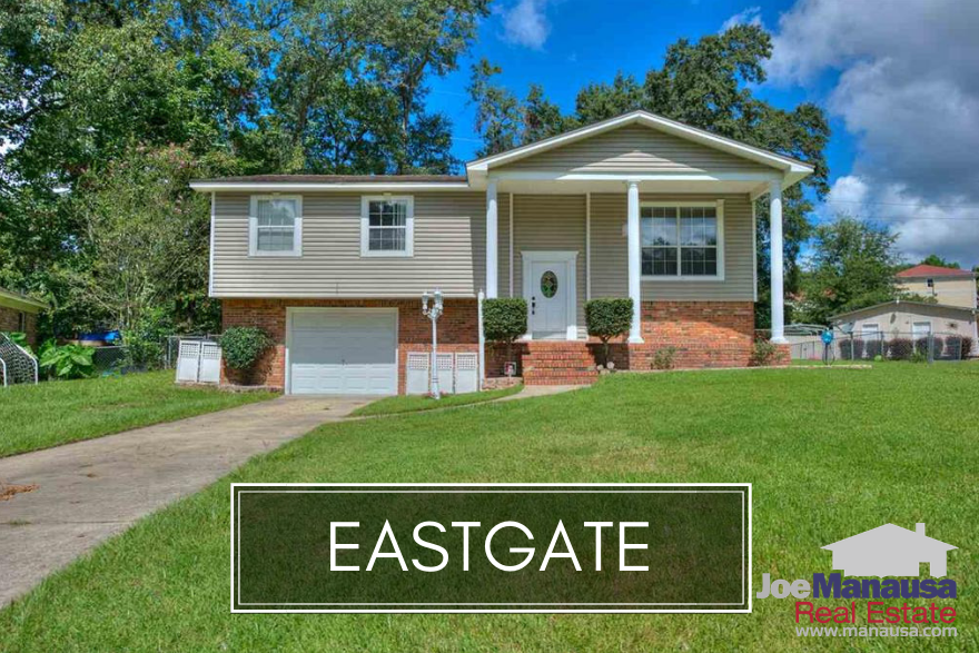 Eastgate is a super popular neighborhood in NE Tallahassee that surprisingly still has homes for sale for less than $200K.