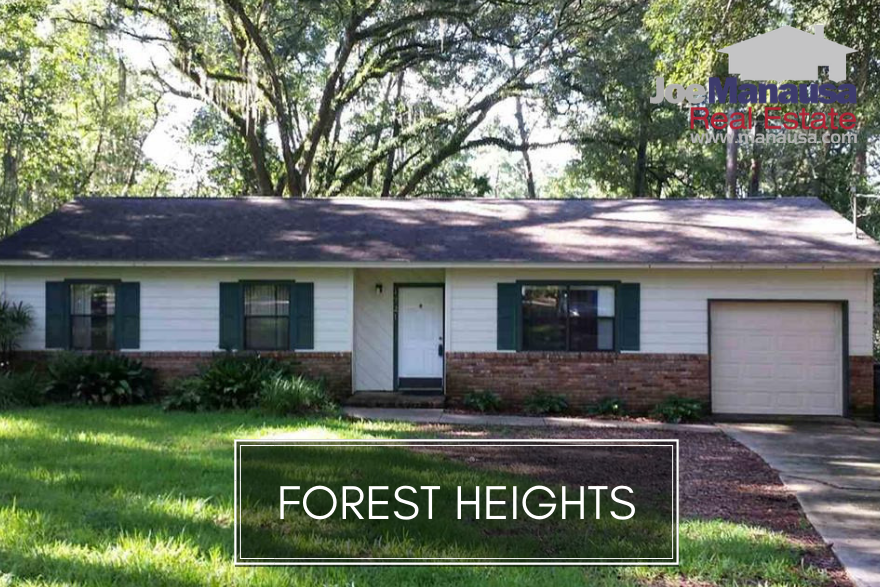 Forest Heights is a central Tallahassee neighborhood located on the north side of Tharpe Street across from Godby High School.