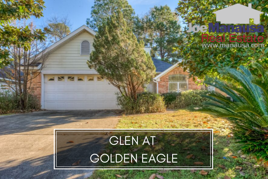 The Glen at Golden Eagle isa popular Northeast Tallahassee neighborhood located within Golden Eagle Plantation.