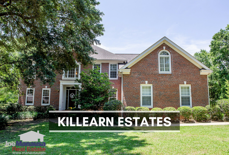 Killearn Estates is arguably the hottest selling and most active neighborhood in the Tallahassee real estate market.