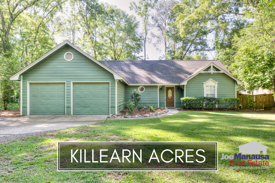 Killearn Acres is a wonderful bellwether neighborhood for measuring progress in the Tallahassee real estate market recovery.