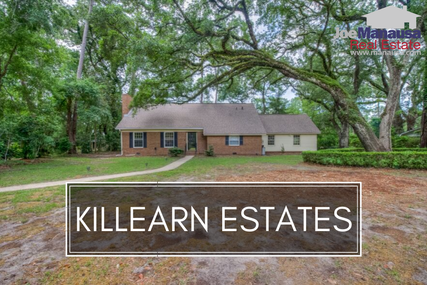 Photo of home in Killearn Estates neighborhood in Tallahassee, FL