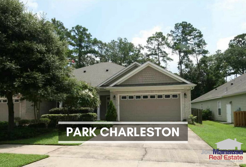Park Charleston in NE Tallahassee has 121 detached and attached single-family homes and with prices well below $400K, they are popular when available.
