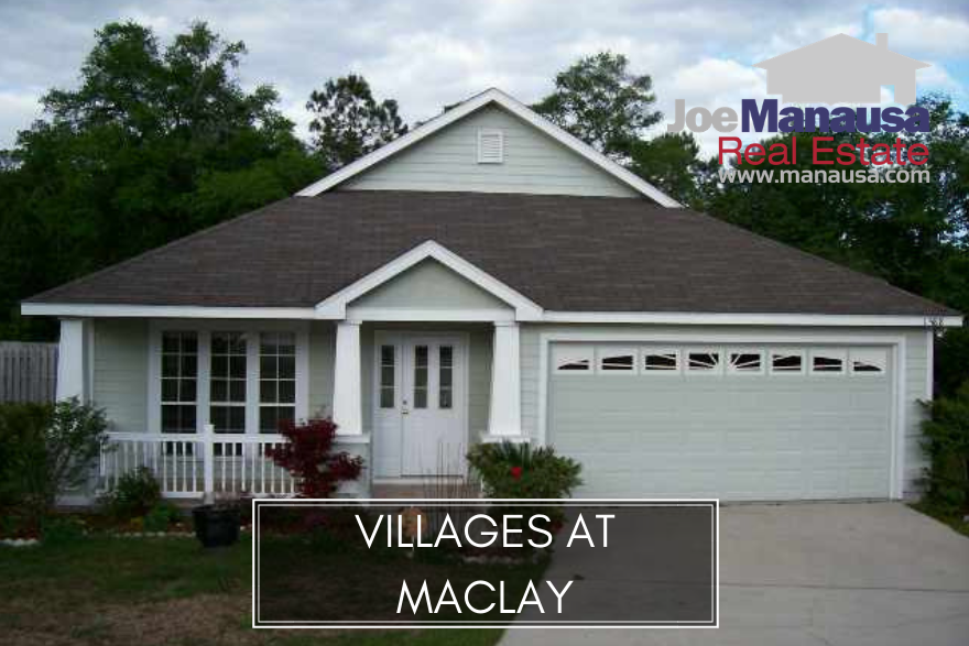 The Villages At Maclay is a twenty year old neighborhood in NE Tallahassee, and it features some of the highest-demand homes (when available).