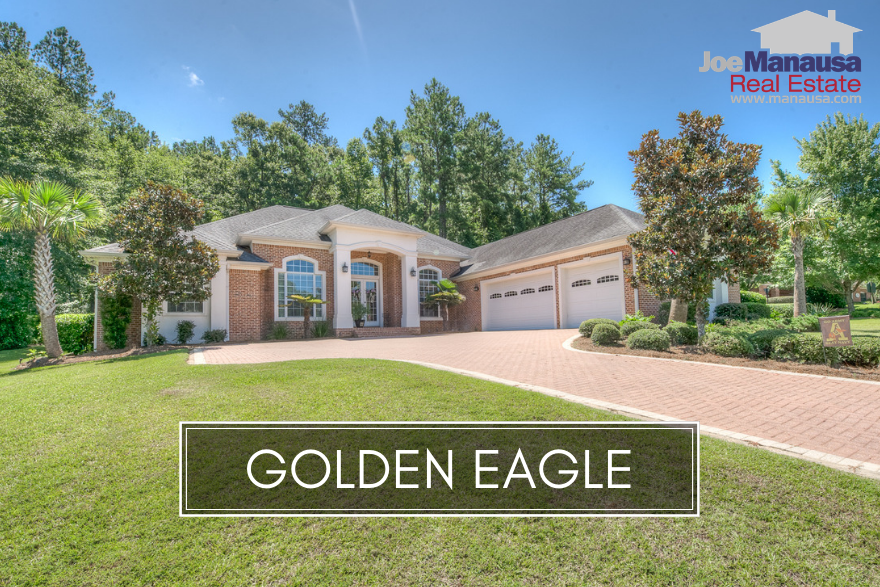 Golden Eagle Plantation in NE Tallahassee is a golf course community that contains the type of finer homes you would expect to see surrounding a world-class Tom Fazio designed golf course.
