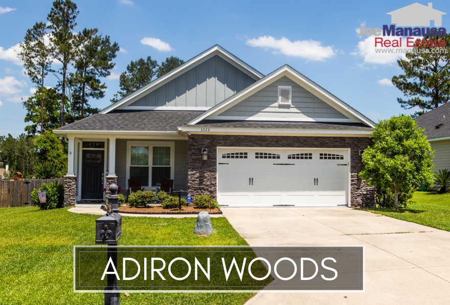 Adiron Woods is a popular NE Tallahassee neighborhood located near the intersection of Walden Road and Mahan Drive on the east side of Tallahassee.