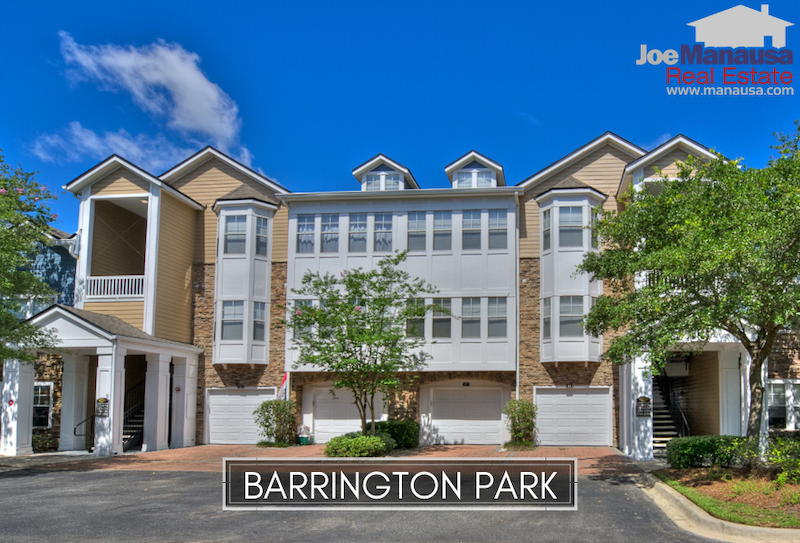 Barrington Park is a 300+ unit condominium complex located on the western side of Thomasville Road, just north of Bull Run.