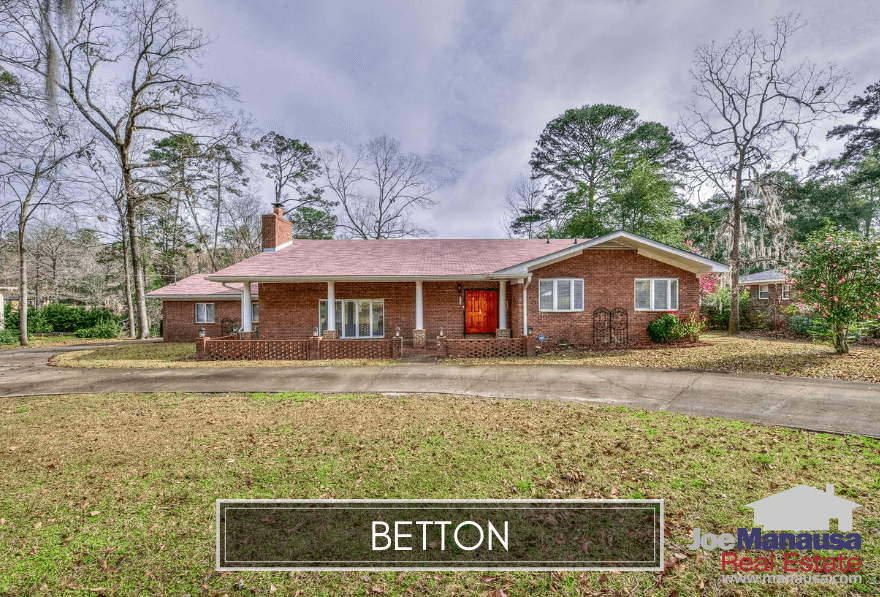 The Betton area in North Midtown Tallahassee contains some of the highest demand real estate in all of Leon County, as buyers seek the irreplaceable awesome location and homes not yet priced beyond their means.