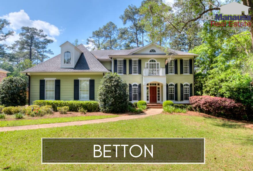 Today's report on Betton includes the subdivisions of Betton Woods, Betton Oaks, Betton Place, Betton Brook, Betton Hill, Betton Hills,  and Betton Estates, so make sure you shop long enough to identify one from the other.