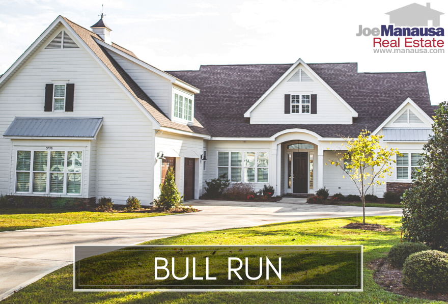 Bull Run is a Northeast Tallahassee neighborhood filled with newer three and four-bedroom homes on relatively small lots.