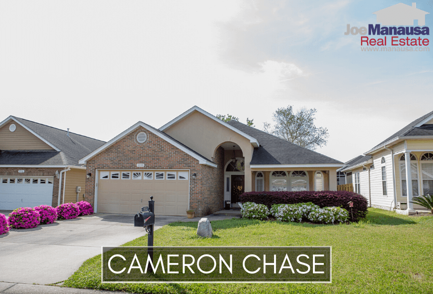Cameron Chase is a small but popular Tallahassee neighborhood located on the west side of Centerville Road just south of the high-demand Killearn Estates community.