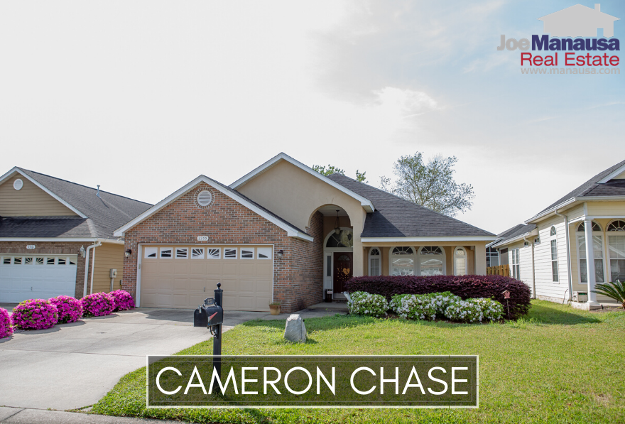 Cameron Chase in NE Tallahassee is located on the west side of Centerville Road, just south of the high-demand Killearn Estates community.