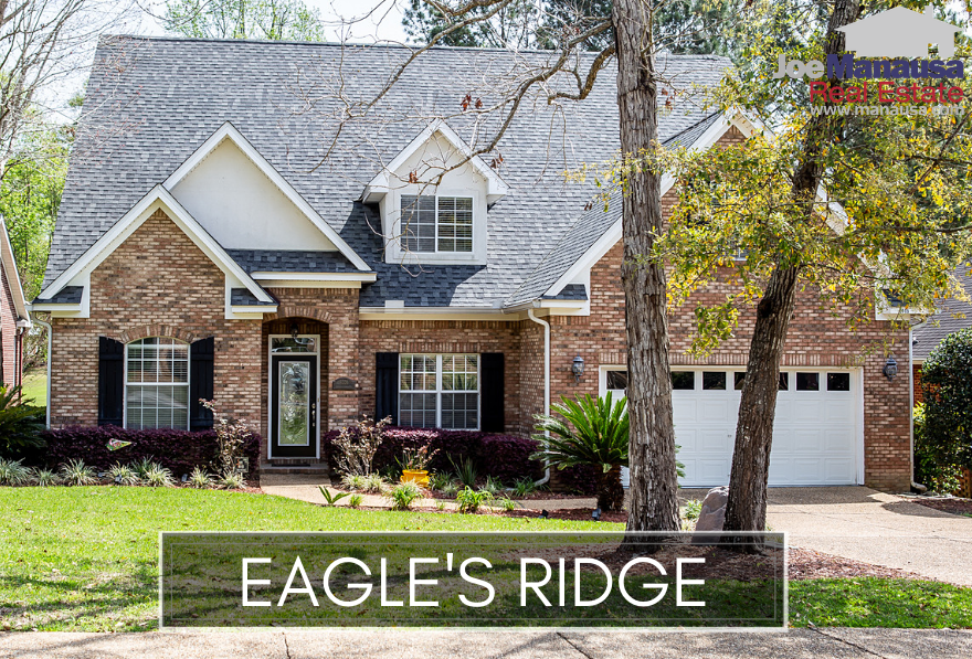 Eagles Ridge is a small but popular low-maintenance community of 127 single-family detached three and four-bedroom homes.