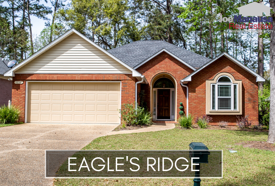 Eagles Ridge is a small but popular patio-homes community located within the gates of Golden Eagle Plantation.  Featuring mostly three and four bedroom