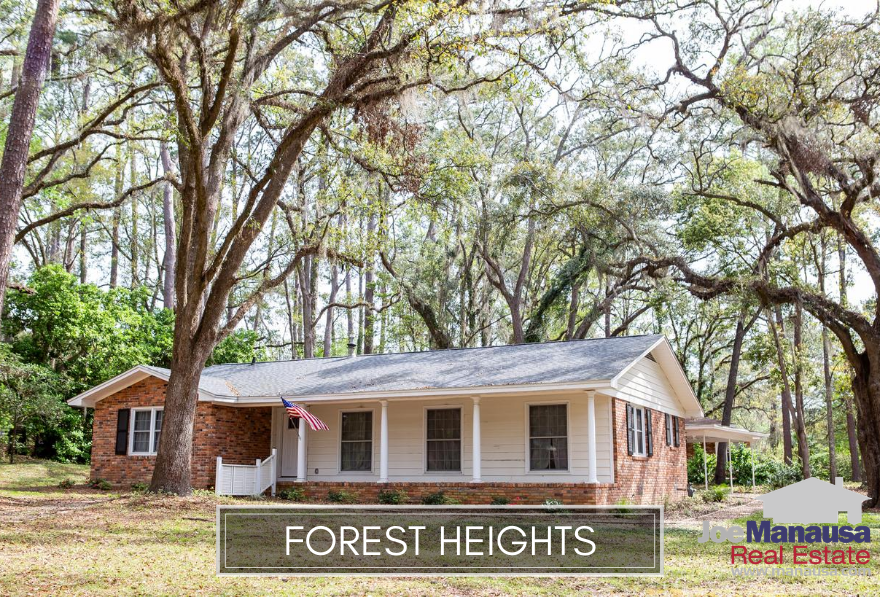 Forest Heights is a Northwest Tallahassee neighborhood filled with three and four-bedroom homes on nice-sized lots and is enjoying a resurgence in home appreciation.
