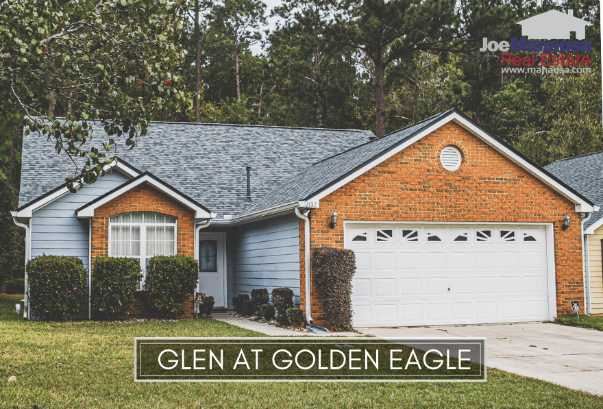 The Glen at Golden Eagle is a low-maintenance neighborhood located within the Golden Eagle Plantation community.