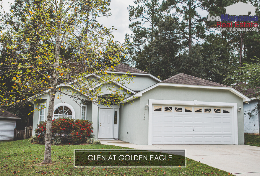 The Glen at Golden Eagle is a very popular Northeast Tallahassee neighborhood that is located in the heart of Killearn Lakes Plantation (within the gates of Golden Eagle Plantation).