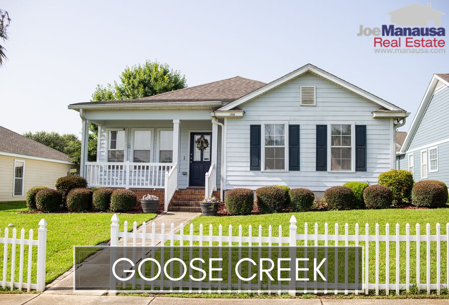 Goose Creek is the collective name given to Goose Creek Fields and Goose Creek Meadows, two small adjacent neighborhoods located on the east side of town.