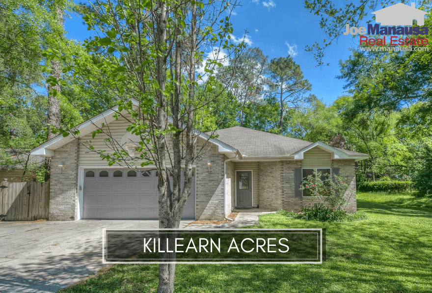 Killearn Acres in NE Tallahassee is one of the hottest neighborhoods in our area, with buyers standing in line for the next home to hit the market for sale.