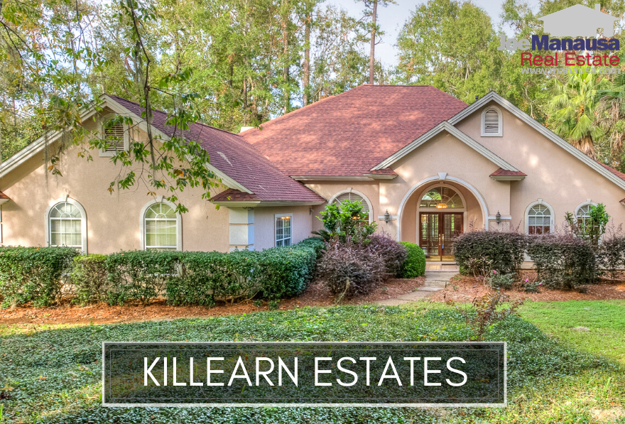 Killearn Estates is one of the most popular places to live in Tallahassee, and with roughly 3,800 homes, it is also one of the largest communities in town.