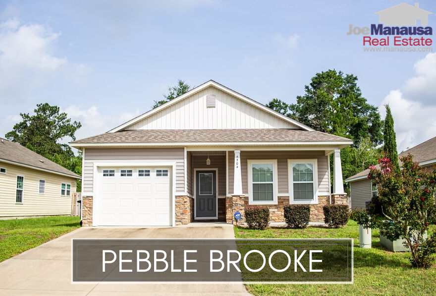 Pebble Brooke is a popular SE Tallahassee neighborhood located just North of Tram Road and less than 10 minutes away from the Southwood Town Center.