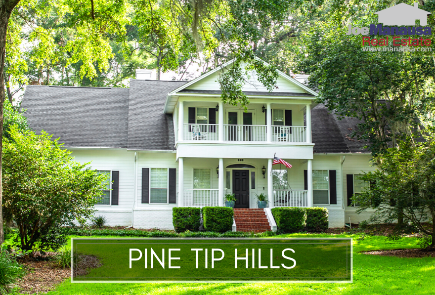 Pine Tip Hills in Northwest Tallahassee is a hidden gem, often overlooked by buyers who are seeking a home in Northeast Tallahassee.