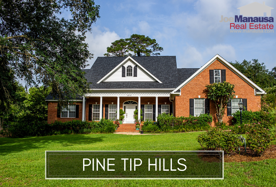 The Pine Tip Hills neighborhood is one of the best-kept secrets in the Tallahassee real estate market.