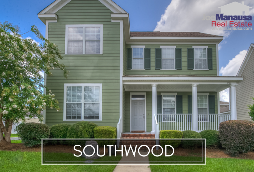 Southwood is Tallahassee's largest neighborhood in the Southeast quadrant, and it is the home to the Florida State High School, John Paul II Catholic School, and the State of Florida Capital Circle Office Complex.