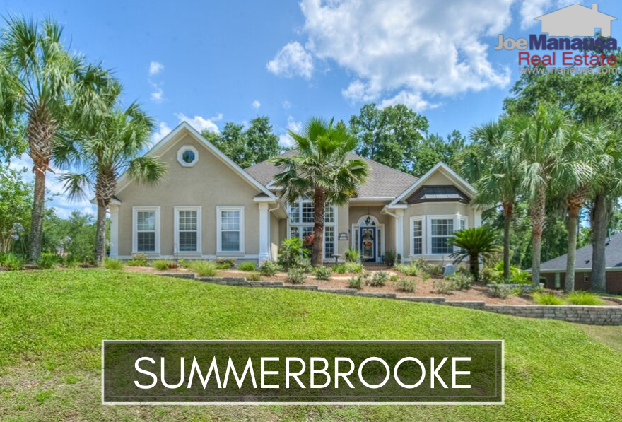 Summerbrooke is a golf course community in NE Tallahassee with access to some of the most sought-after A-rated public schools in Leon County.