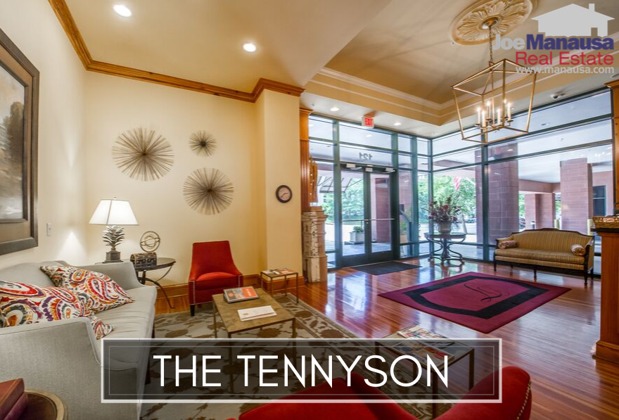 The Tennyson is located in downtown Tallahassee on North Monroe Street, thus residents are merely a short walk to dining, nightlife, entertainment, and the State Capitol complex.