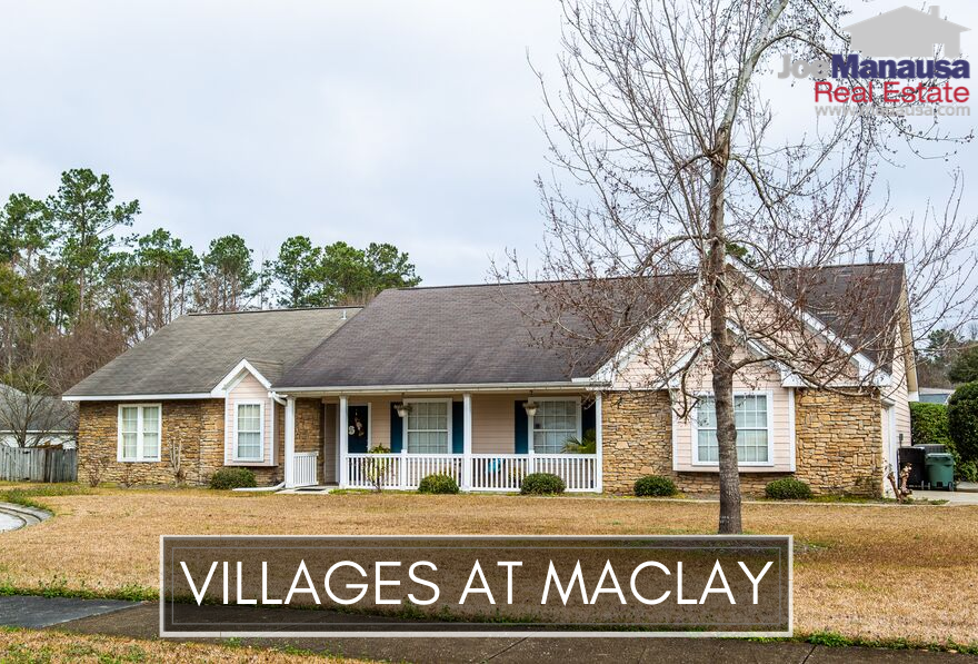 The Villages At Maclay is located north of the interstate, west of Thomasville Road, and just south of Maclay Gardens.