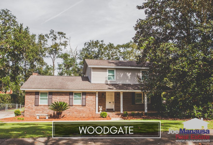 Woodgate is a wildly popular neighborhood of more than 200 three, four, and five-bedroom homes in Northeast Tallahassee.