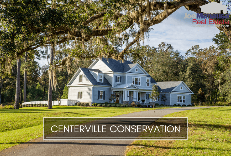 Centerville Conservation is located on the west side of Centerville Road, out just beyond Bradfordville Road.