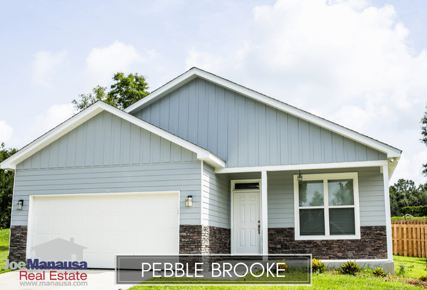 Pebble Brooke in Southeast SE Tallahassee is a popular neighborhood filled with roughly 200 attached and detached single-family homes.