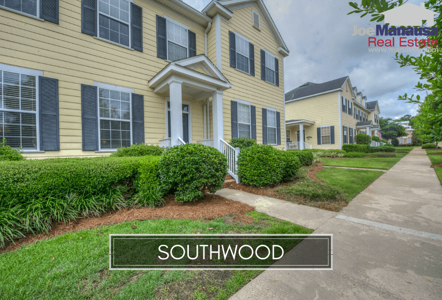 Southwood in SE Tallahassee is a planned community development that is also home to the Florida State High School, the John Paul II Catholic School, and the State of Florida Capital Circle Office Complex.
