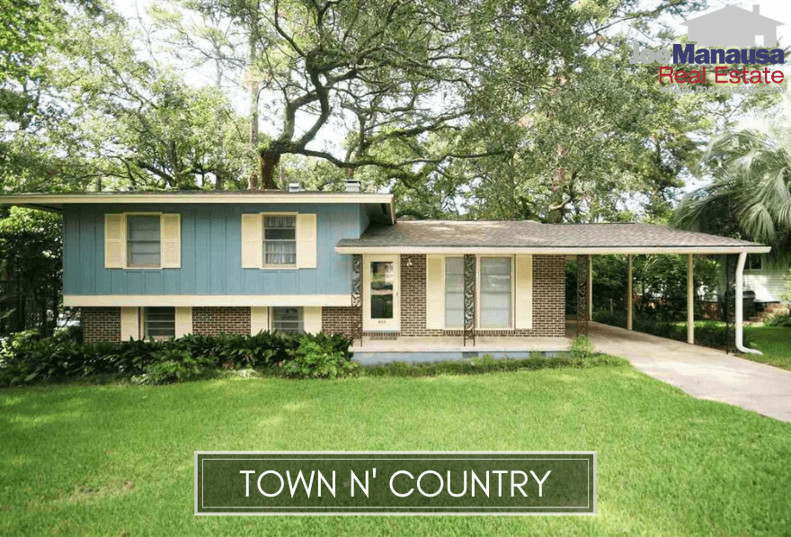 Town N Country Park is a popular NW Tallahassee neighborhood filled with four and three-bedroom homes that were mostly built around 50 years ago.