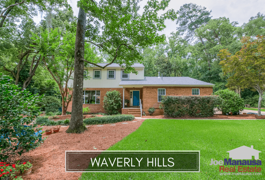 Waverly Hills is a popular destination for buyers seeking a Midtown location that is just minutes away from everything to include dining, entertainment, parks, shopping, and major traffic thoroughfares.
