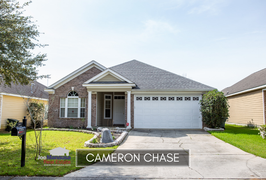 Cameron Chase is a small but very popular NE Tallahassee neighborhood that contains approximately 130 three and four bedroom homes.