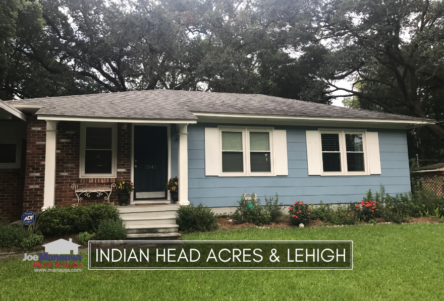 Indian Head Acres & Lehigh are an in-town community that offers three and four bedroom homes on very large lots, great values, and access to downtown Tallahassee.